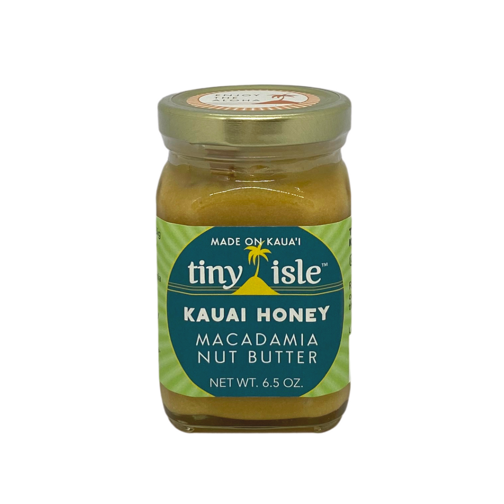 Tiny Isle - Kauai Honey Macadamia Nut Butter