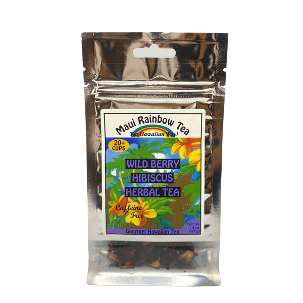 Maui Rainbow Tea Wild Berry Hibiscus Herbal Tea