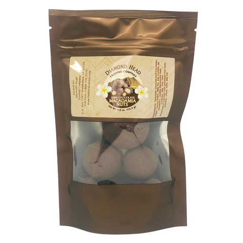 Diamond Head Trading Co. - Dark Chocolate Macadamia Nuts