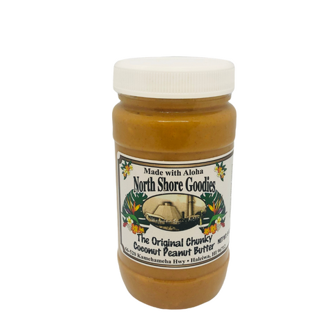 North Shore Goodies - The Original Chunky Coconut Peanut Butter