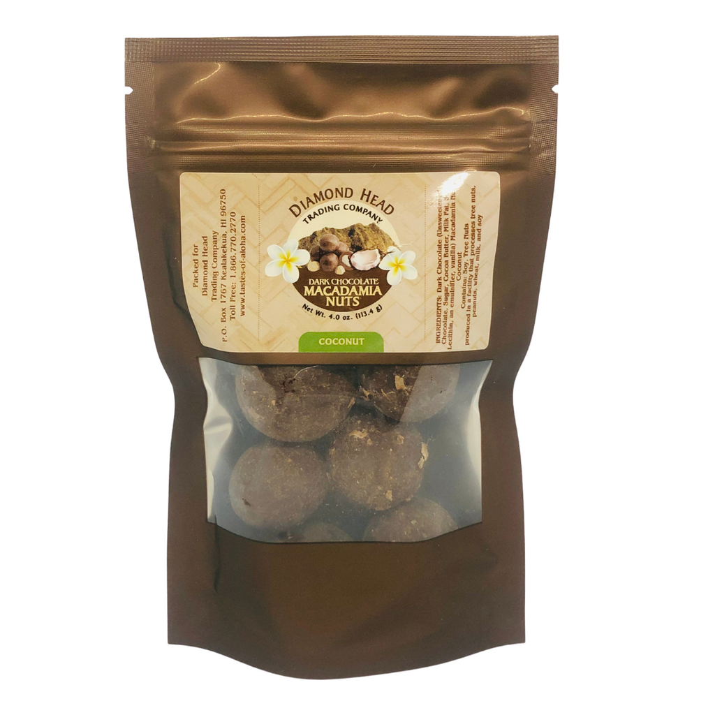 Diamond Head Trading Co. - Dark Chocolate Coconut Macadamia Nuts