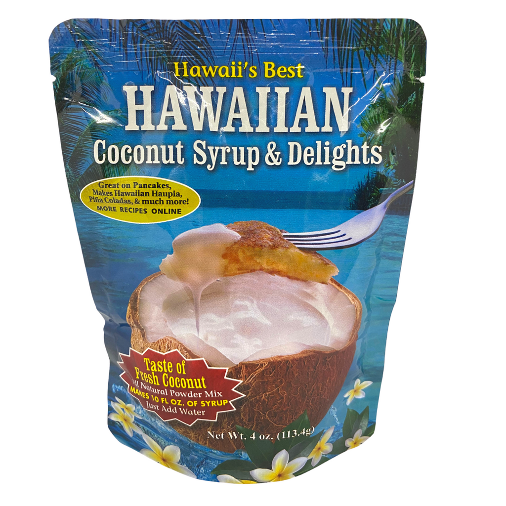 Hawaii's Best - Hawaiian Coconut Syrup & Delights Small 4 oz.