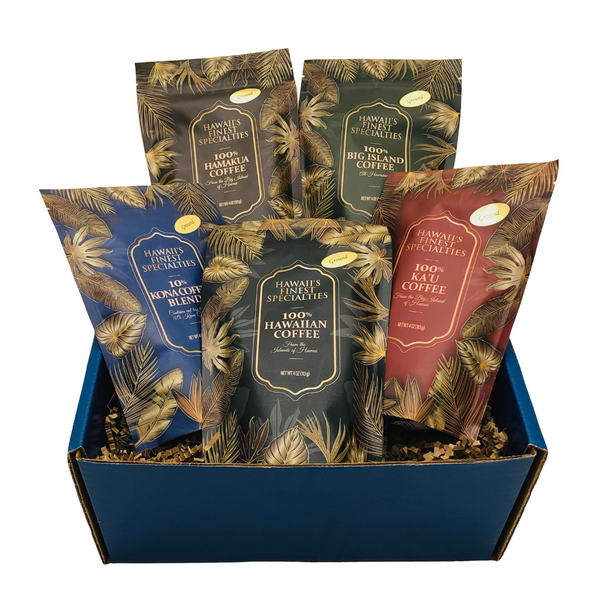 Tastes of Aloha - Hawaii's Finest Coffee Gift Box