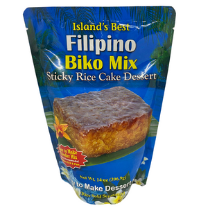 Island's Best  Filipino Biko Mix - Sticky Rice Cake Dessert