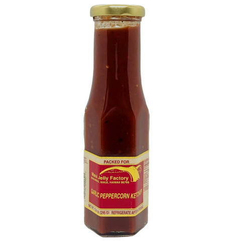 Maui Jelly Factory Garlic Peppercorn Ketchup