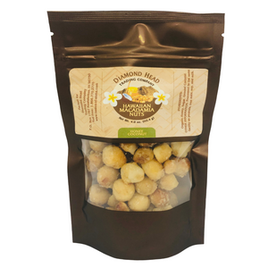 Diamond Head Trading Co -Honey Coconut Macadamia Nuts
