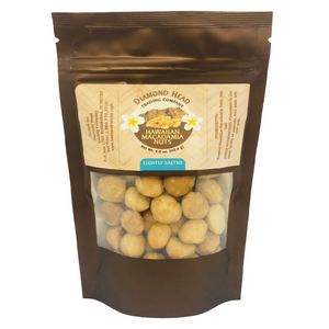 Diamond Head Trading Co - Lightly Salted Macadamia Nuts