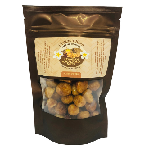 Diamond Head Trading Co - Honey Coffee Macadamia Nuts