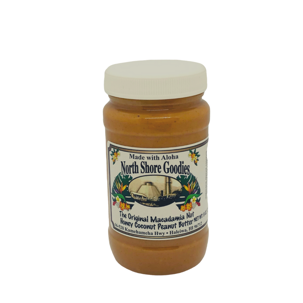 North Shore Goodies - Macadamia Nut Honey Coconut Peanut Butter
