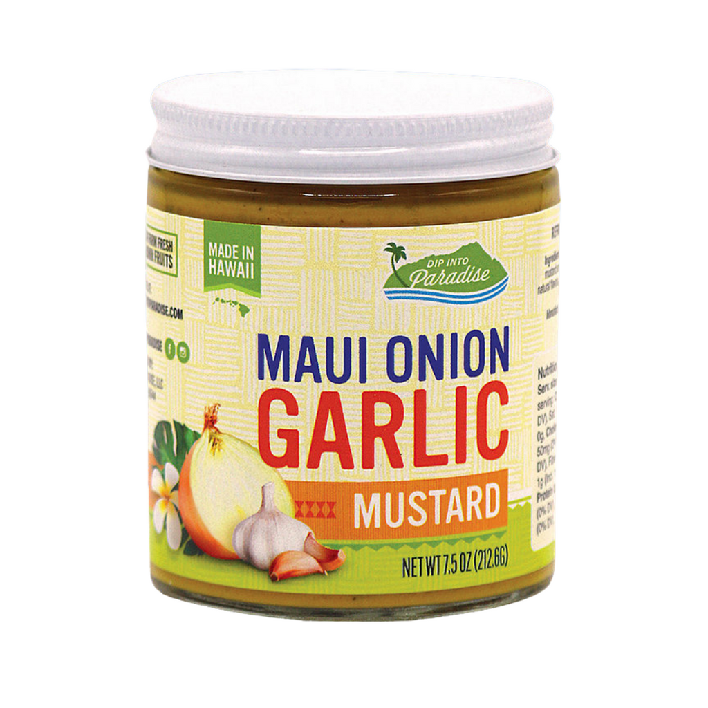 Dip into Paradise Maui Onion Garlic Mustard