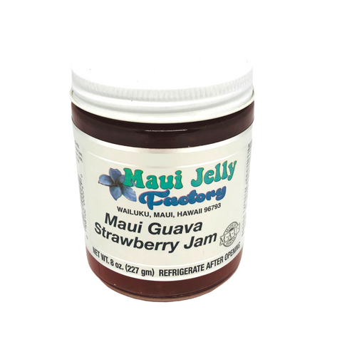 Maui Jelly Factory Maui Guava Strawberry Jam