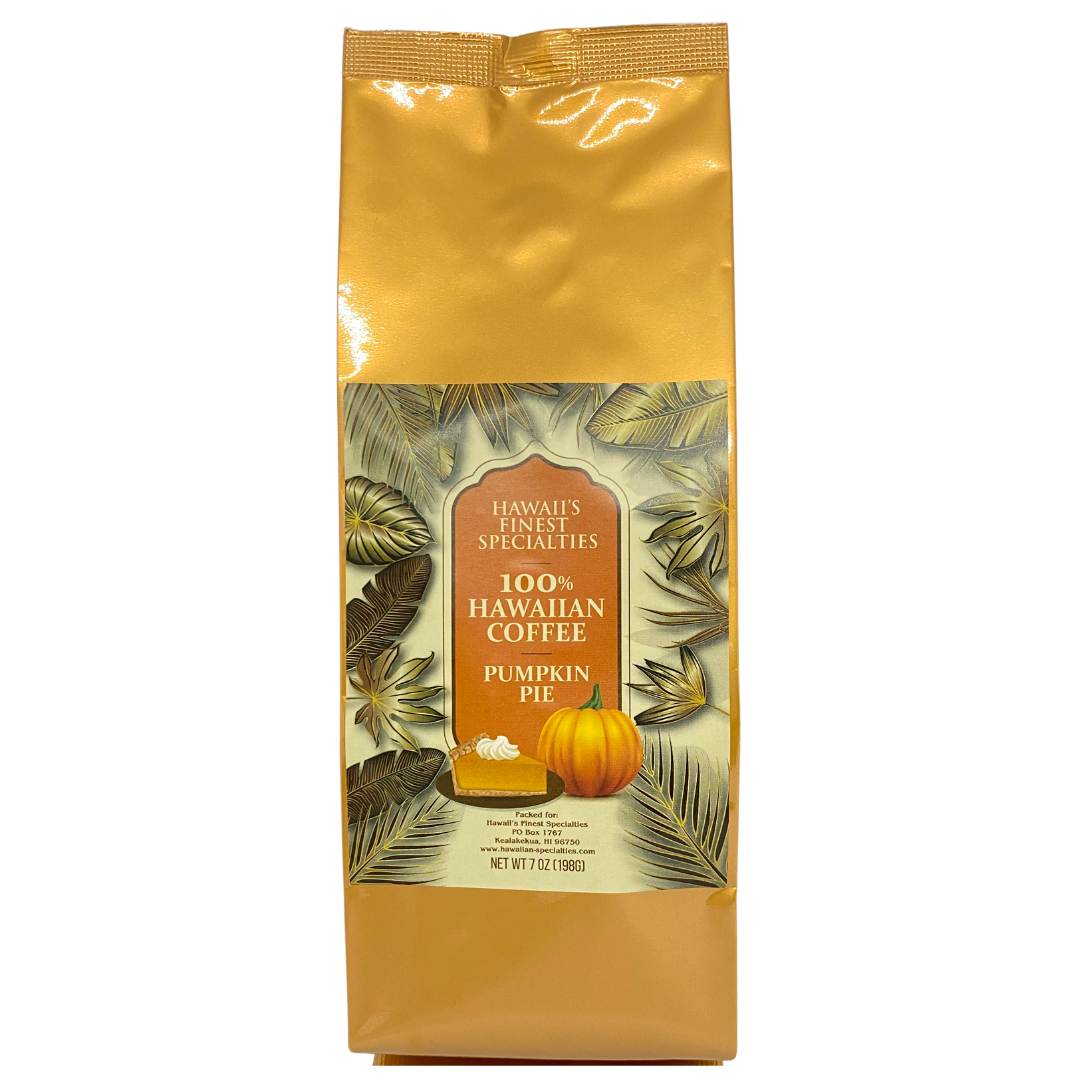 Hawaii's Finest Specialties - 100% Hawaiian Pumpkin Pie Coffee