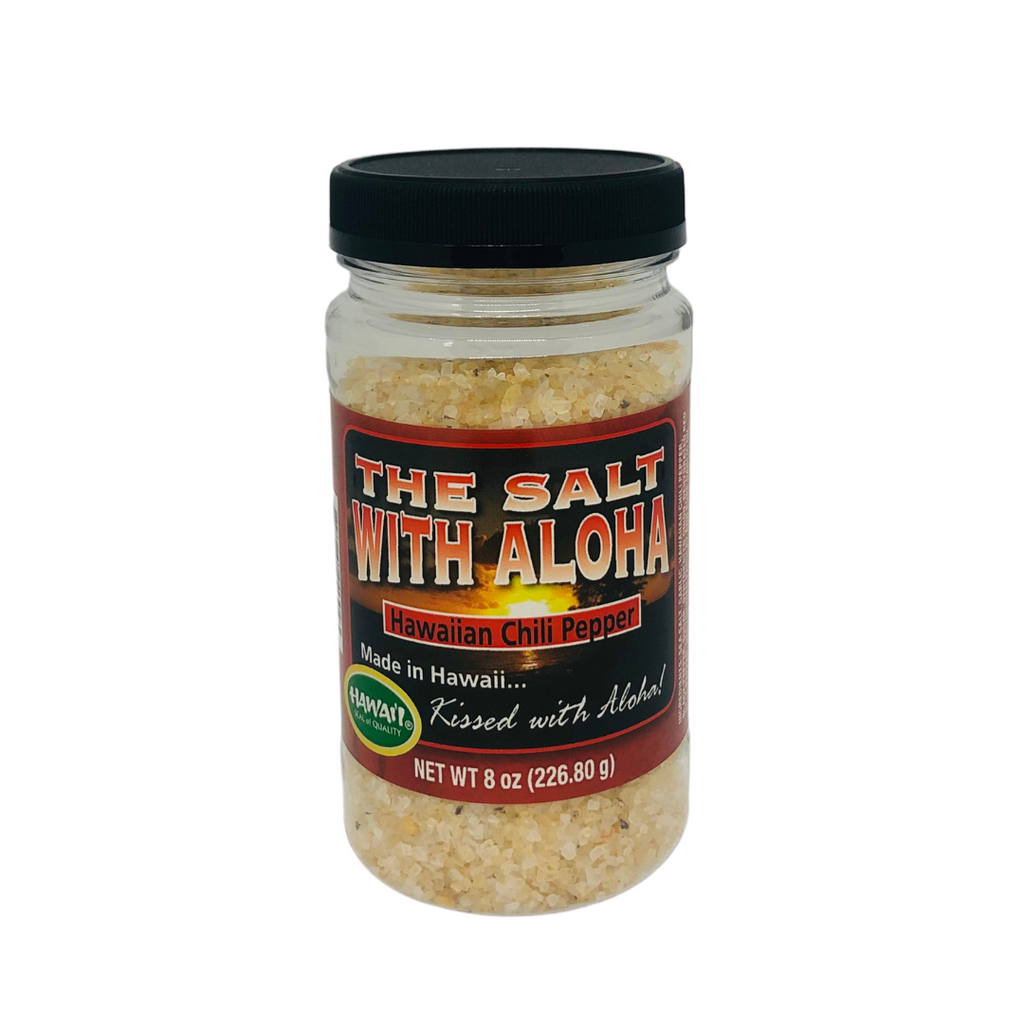 Hawaiian Chili Pepper Gourmet Sea Salt