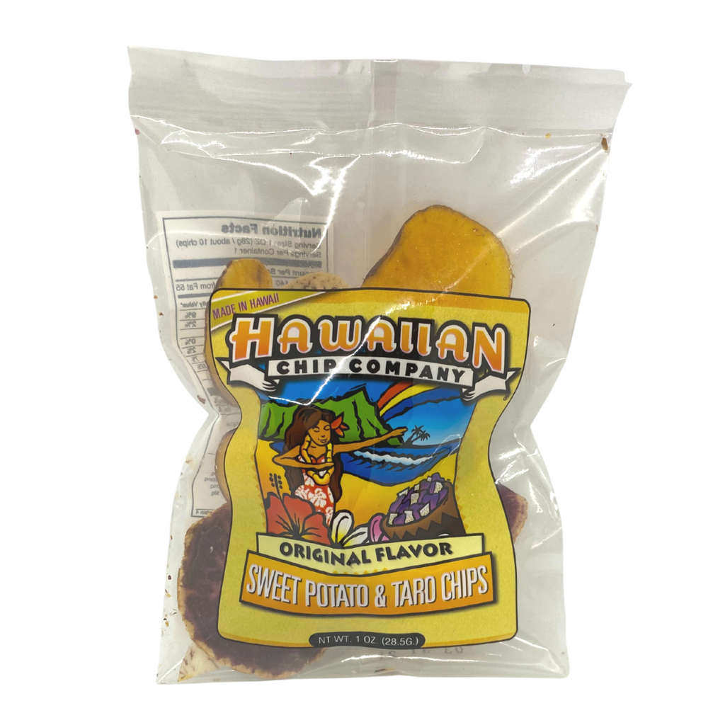 Hawaiian Chip Co. Sweet Potato & Taro Chips - Mini