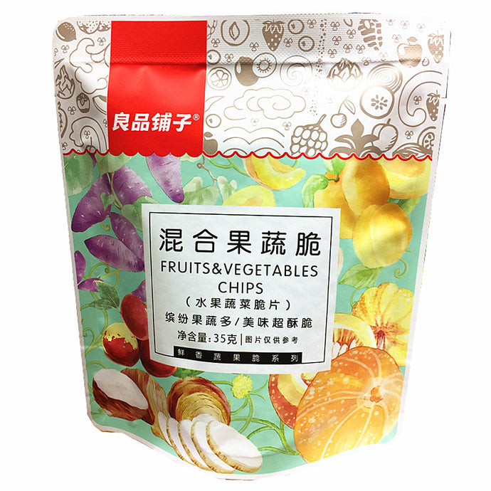 BESTORE Mixed Fruits Crisp 良品铺子混合水果脆 54g - fatb.asia