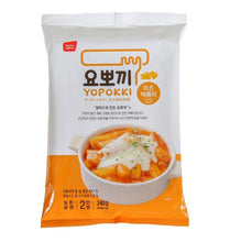 Load image into Gallery viewer, Yopokki Cheese Korea Topokki Packs (2 person serving) 280g - fatb.asia