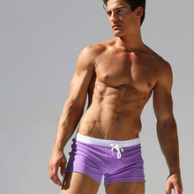 Men's Swimsuits Surf Board Boxer Shorts