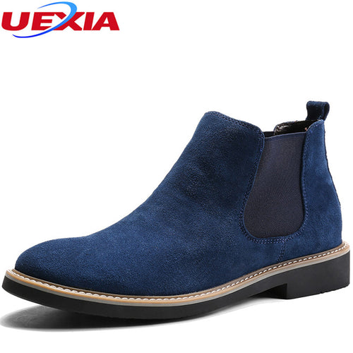 Chelsea Cow Suede Boots