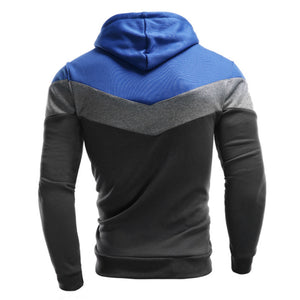 Men's Retro Long Sleeve Hoodie
