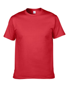 Classic round neck t-shirt in Hemp Red