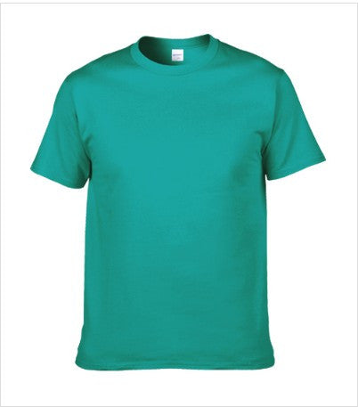 Classic round neck t-shirt in Jade Green