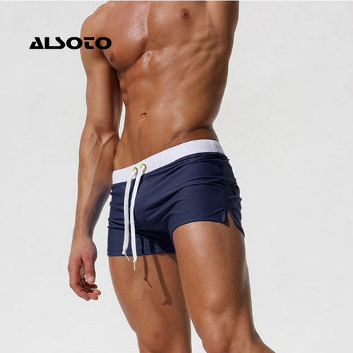 ALSOTO Men's Briefs Summer Beach Shorts