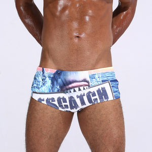 2018 Men's Swimming Boxer Briefs