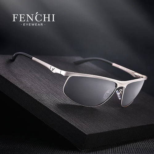 FENCHI Designer Polarized Sunglasses for Men