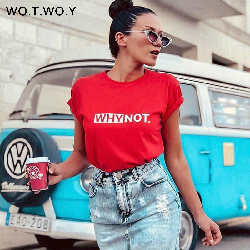 Women's Cotton Summer Printed T-Shirt