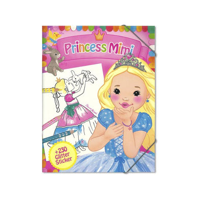 Princess Mimi Glitter Stickers