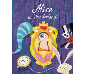 Sassi Die-Cut Book, Alice in Wonderland