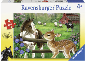 Ravensburger - New Neighbours Puzzle 60pc - margaretriverrascals