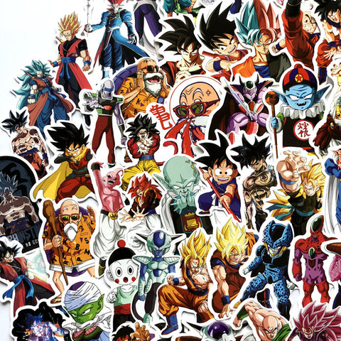 Autocollant Trottinette<br>Dragon Ball (100)