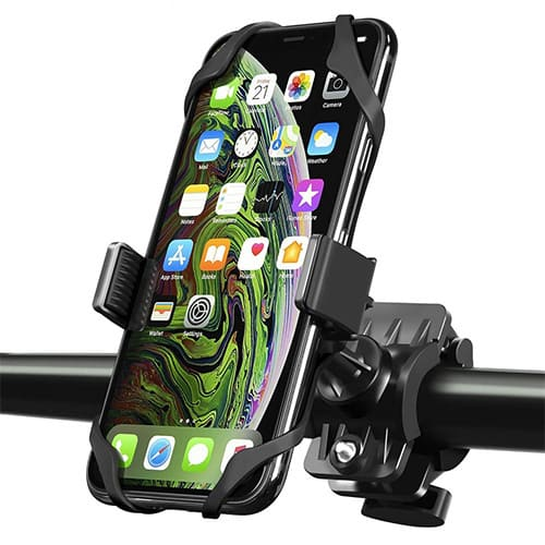 Support Téléphone Trottinette<br>Silicone