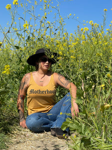 Motherhood Vintage Gold Tank