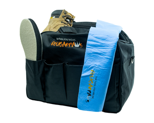 Load image into Gallery viewer, Tote Bag   Our Cougar Paws tote bag is perfect for hauling all your gear to your job site.