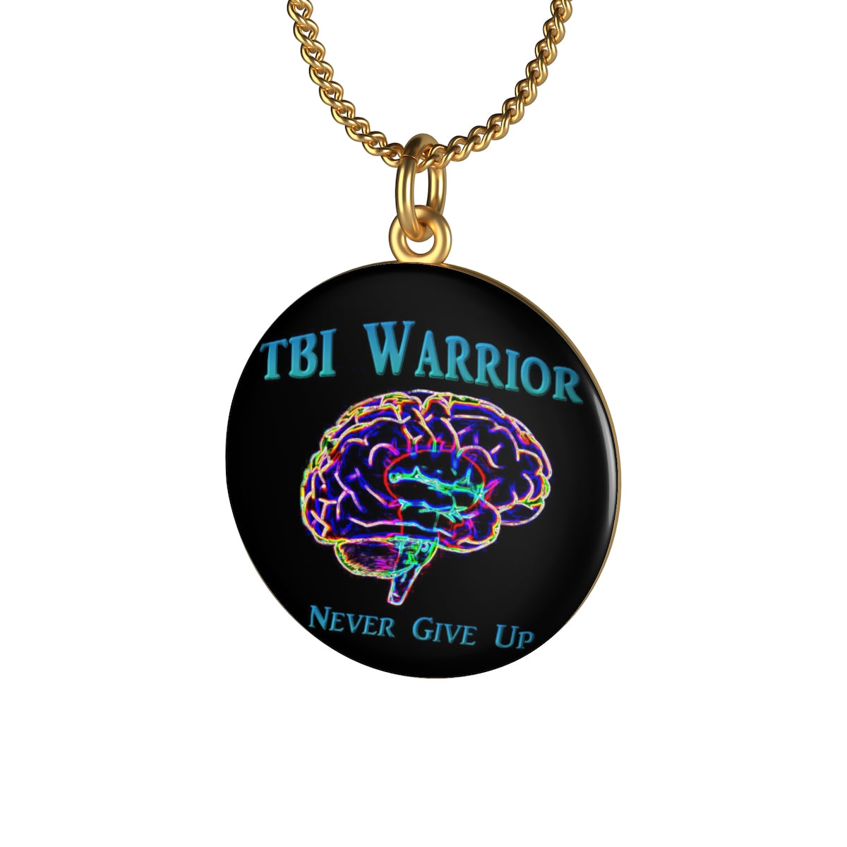 TBI Warrior Single Loop Necklace