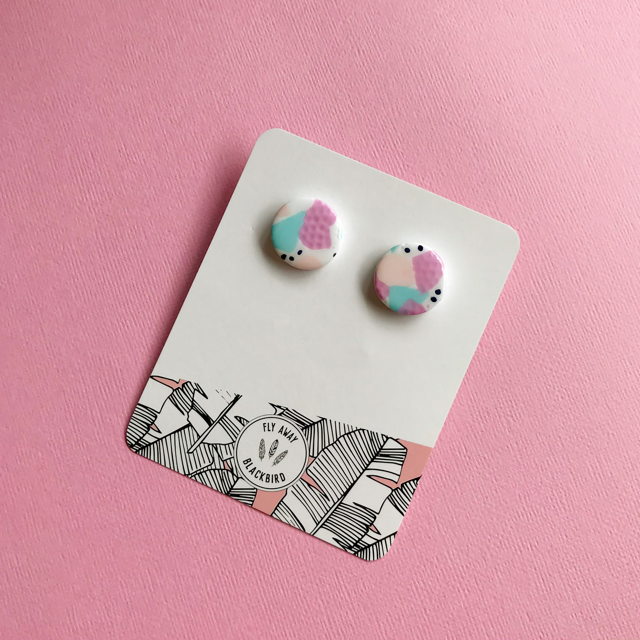 Confetti Statement Studs