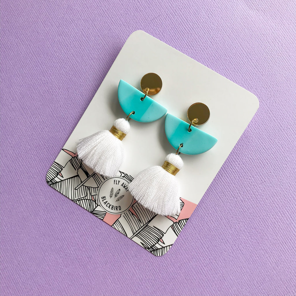 Dance With Me Earrings - Day Dream