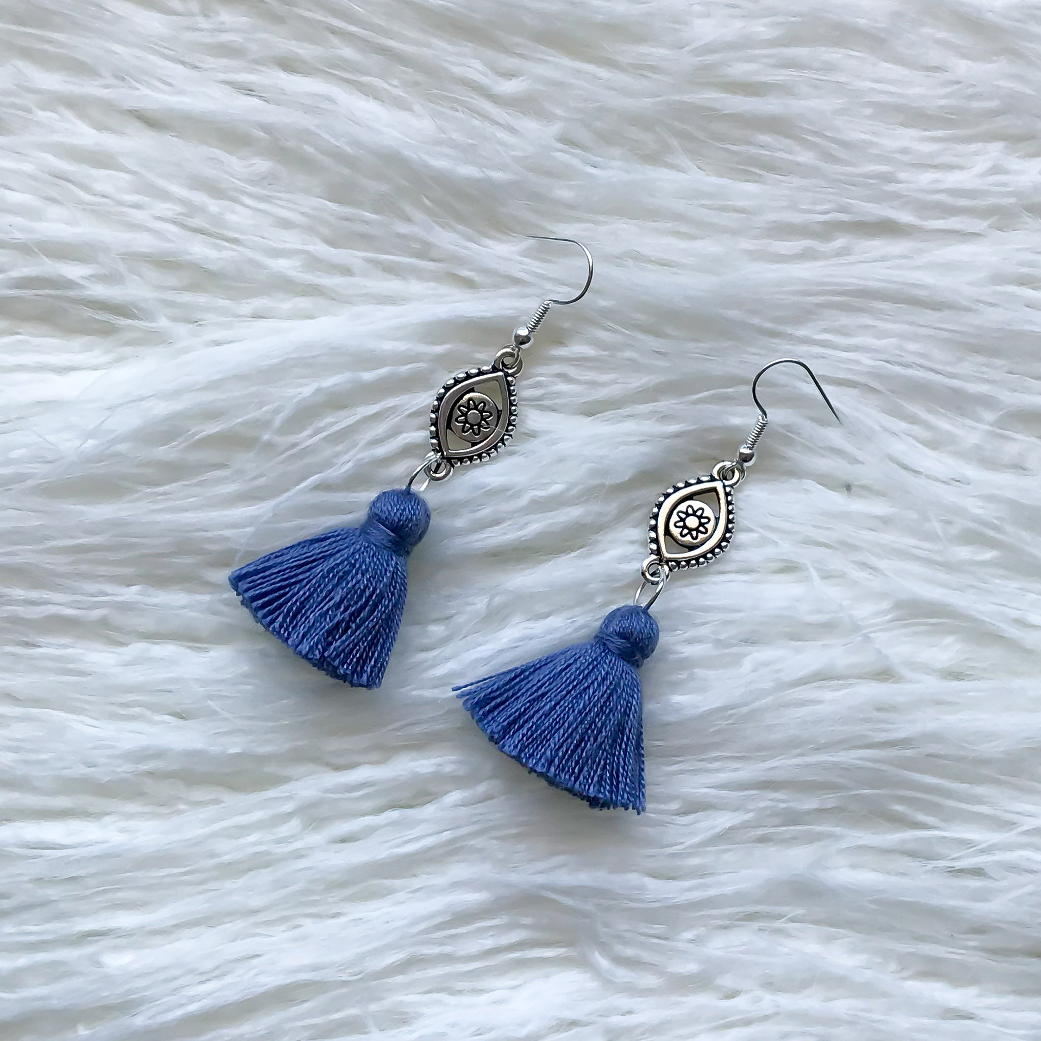 Boho Fortune Dangle - Blue