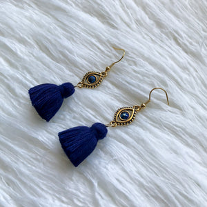 Boho Fortune Dangle - Navy Blue