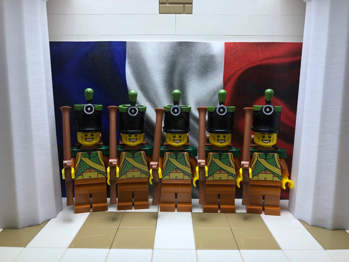 LEGO Minifig- French Corsican Tirailleur 1810