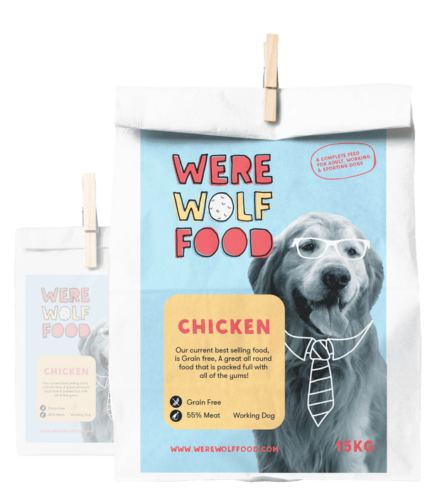 15KG - Chicken [Grain Free] - Adult - Werewolf Food