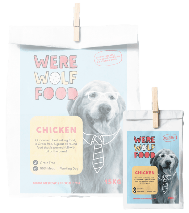 2KG - Chicken [Grain Free] - Adult - Werewolf Food