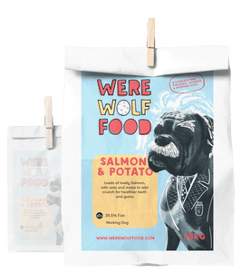15KG - Salmon & Potato - Adult - Werewolf Food