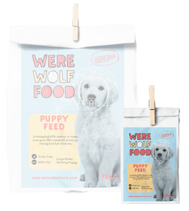 2KG - Salmon [Grain Free] - Puppy - Werewolf Food