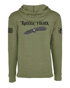 Ranger Hoodie w/ KNIFE ON BACK - Next Level 9300