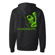 Load image into Gallery viewer, Legion / Reaper Zip Up Hoodie (Black / #70DB1C) ITC SS4500Z
