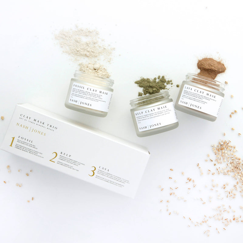 NJ - Clay Masks Trio