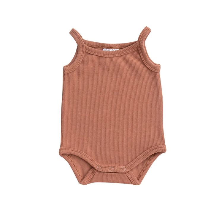 MB - Ribbed Bodysuit | Apricot